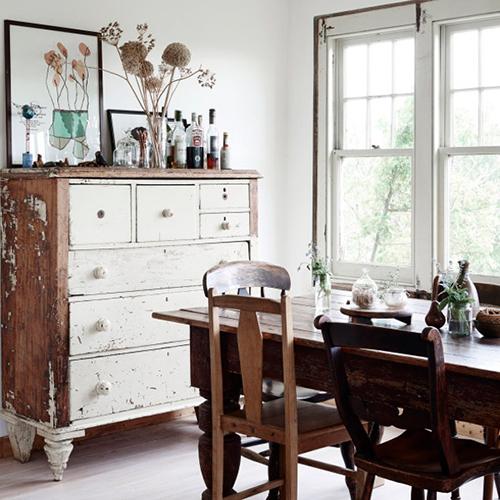 Une cuisine de style campagnard facile recr er for Recuperation de vieux meubles