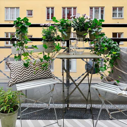 Comment am nager un petit balcon d coration blogue pratico pratique - Comment isoler un balcon ...