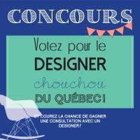 Concours: votez pour votre designer chouchou du Québec!
