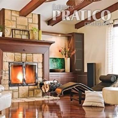 Un foyer remodel salon avant apr s d coration et r novation pratico - Decoration foyer salon ...