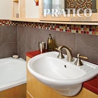 Salle de bain petite et sophistiqu e salle de bain - Je decore salle de bain ...