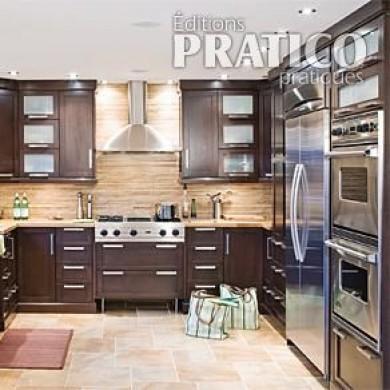 cuisine chic et chaleureuse cuisine avant apr s d coration et r novation pratico pratique. Black Bedroom Furniture Sets. Home Design Ideas