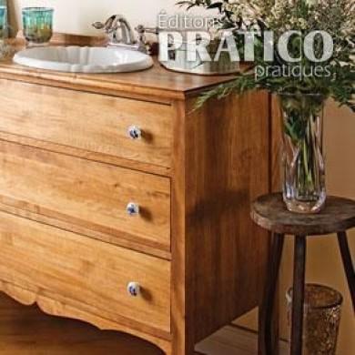Un meuble lavabo tr s commode salle de bain avant for Commode salle de bain