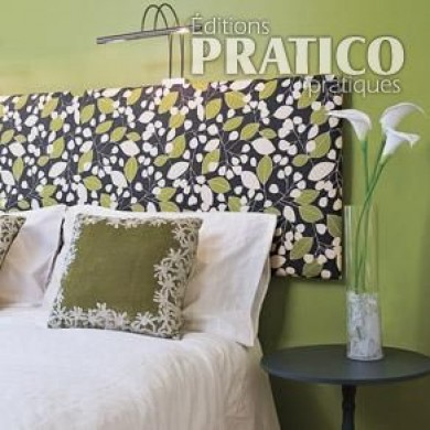 comment fabriquer une t te de lit en tapes d coration et r novation pratico pratique. Black Bedroom Furniture Sets. Home Design Ideas