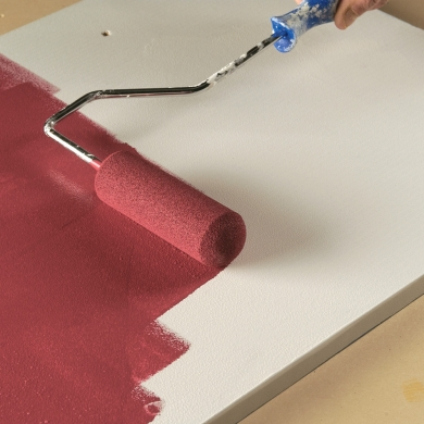 Comment peindre la m lamine en tapes d coration et r novation pratico pratique for Peindre sur melamine