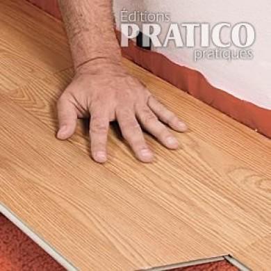 Comment poser un plancher de bois flottant en tapes d coration et r nov - Comment renforcer un plancher bois ...