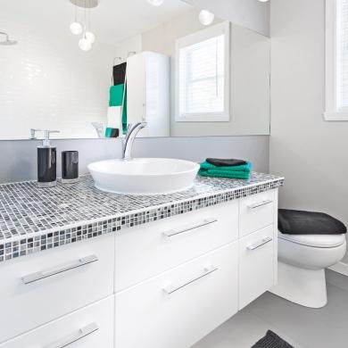 Comment transformer la salle de bain petit budget for Budget salle de bain