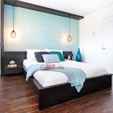 en tapes cr er un mur effet 3d en tapes. Black Bedroom Furniture Sets. Home Design Ideas