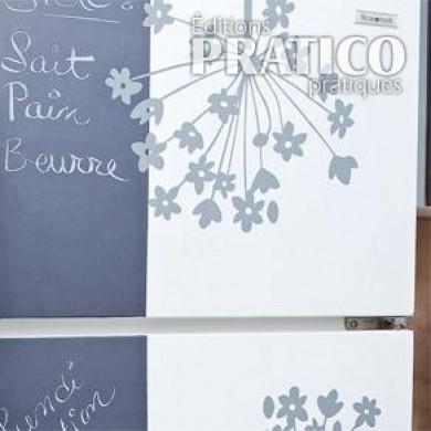 D corer le frigo avec des adh sifs d coratifs en tapes d coration et r novation pratico for Adhesifs decoratifs