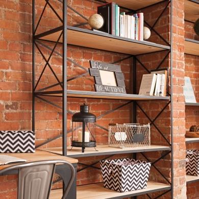 tag re style industriel salon inspirations. Black Bedroom Furniture Sets. Home Design Ideas