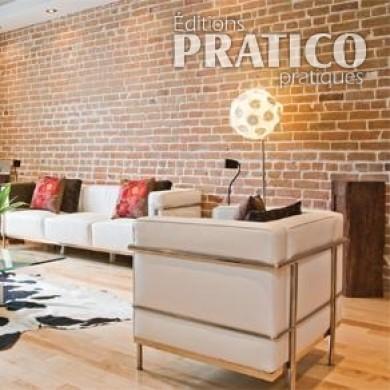 Mur De Briques Au Salon Salon Inspirations D Coration Et R Novation Pratico Pratique
