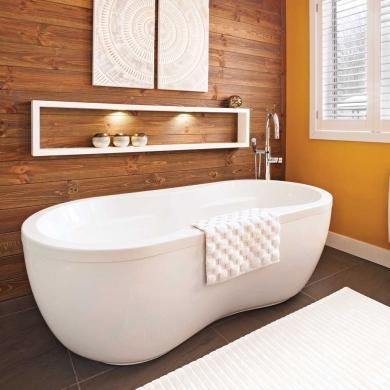 jeux de contrastes dans la salle de bain salle de bain inspirations d coration et. Black Bedroom Furniture Sets. Home Design Ideas