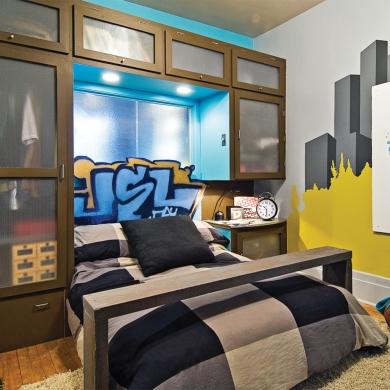 La chambre cool pour gar on chambre avant apr s for Chambre pour garcon de 2 ans