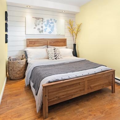 Look nouveau champ tre dans la chambre chambre - Decor de chambre a coucher champetre ...