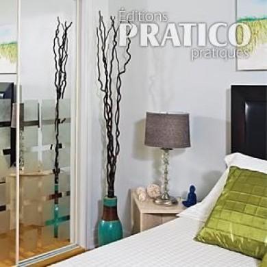 peindre et givrer des portes miroirs en tapes d coration et r novation pratico pratique. Black Bedroom Furniture Sets. Home Design Ideas