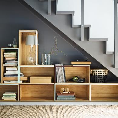 Rangement sous l 39 escalier rangement inspirations - Rangement sous escalier ikea ...