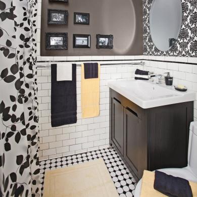 Refaire le plancher de céramique de la salle de bain - En étapes ...