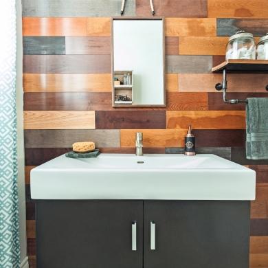 salle de bain grand effet petit budget salle de bain. Black Bedroom Furniture Sets. Home Design Ideas