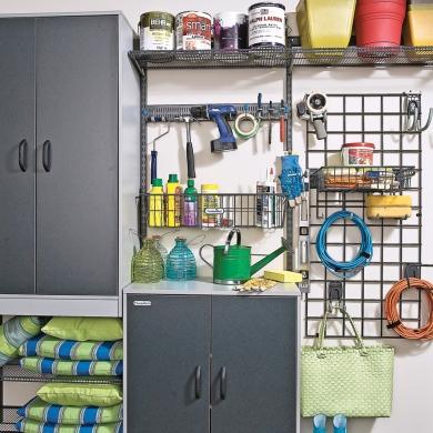 solution pour mieux ranger les outils et les accessoires. Black Bedroom Furniture Sets. Home Design Ideas