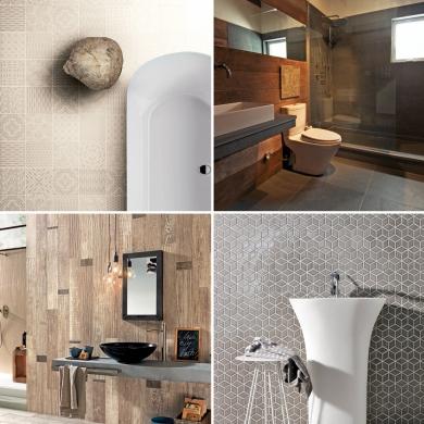 Salle de bain les tendances c ramique trucs et conseils for Salle de bain deco 2016