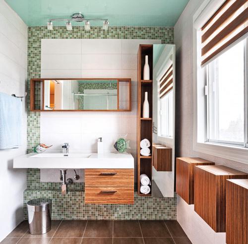 10 astuces d co pour une salle de bain ultra fonctionnelle. Black Bedroom Furniture Sets. Home Design Ideas