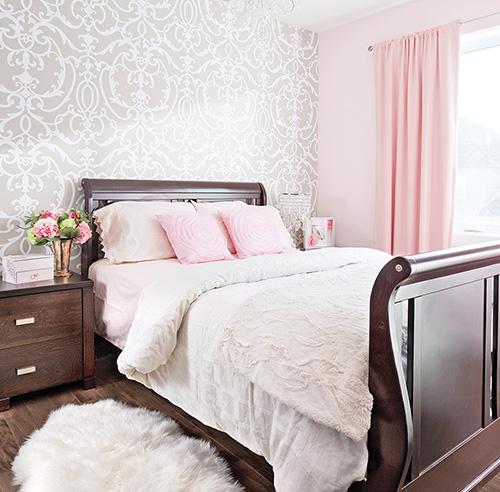 Agencements de couleurs gagnants avec la peinture for Agencement chambre a coucher