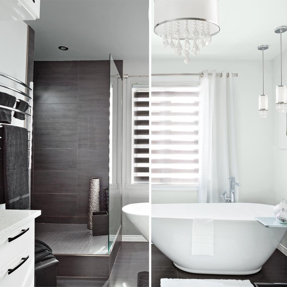 Une salle de bain deux ambiances salle de bain - Je decore salle de bain ...
