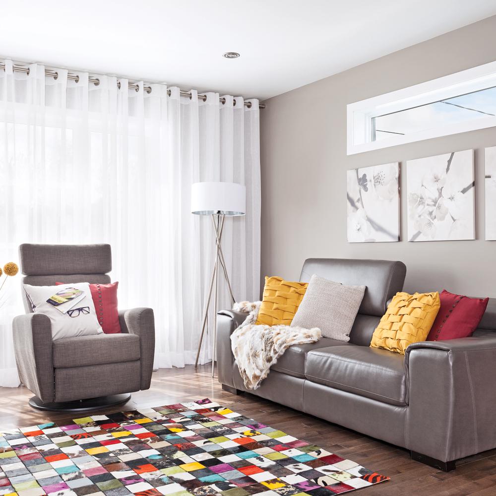 Accessoires color s pour le salon salon inspirations for Accessoire deco salon