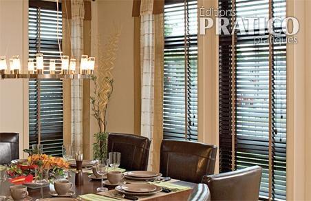 stores et rideaux pour la salle manger salle manger inspirations d coration et. Black Bedroom Furniture Sets. Home Design Ideas