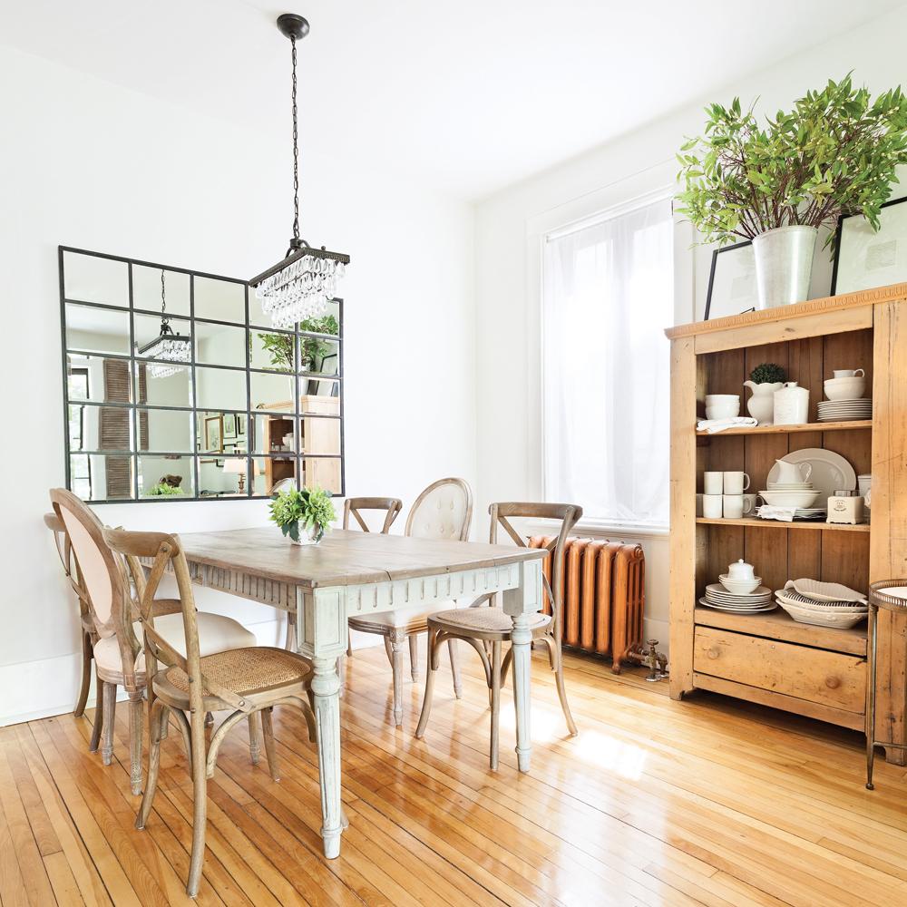 esprit campagne fran aise pour la salle manger salle manger inspirations d coration et. Black Bedroom Furniture Sets. Home Design Ideas