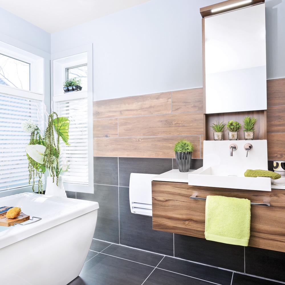 Chaleur masculine dans la salle de bain salle de bain for Dans la salle de bain