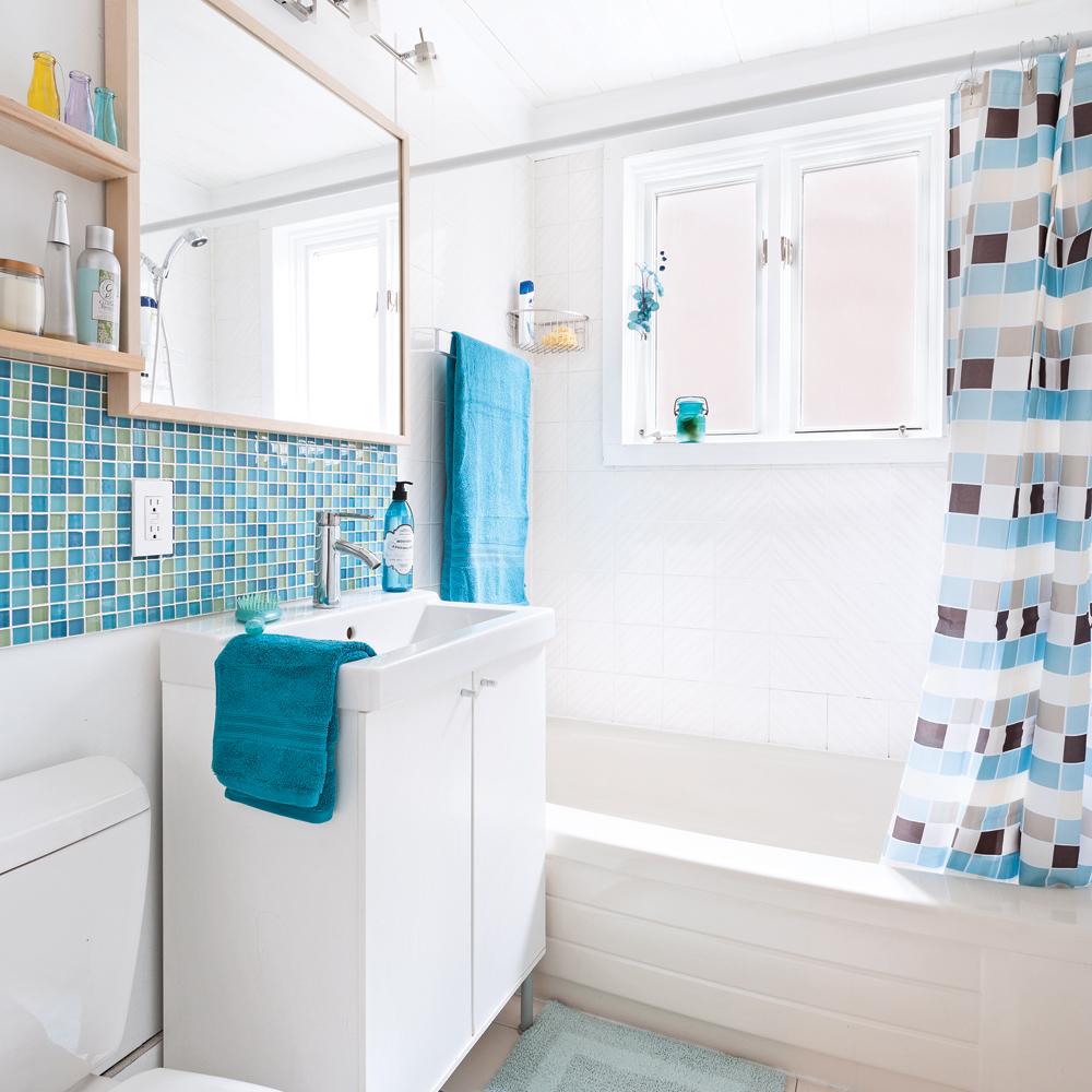 Salle de bain transformée pour moins de 500$! - Salle de ...