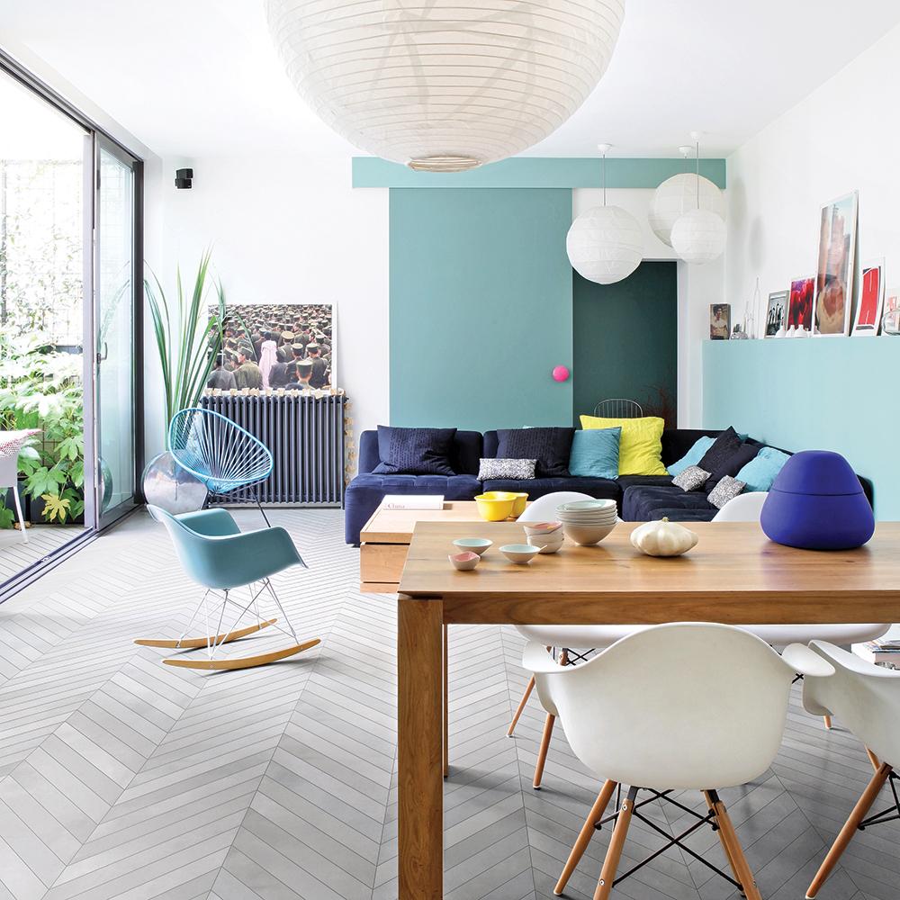 Aire ouverte minimaliste   salon   inspirations   décoration et ...