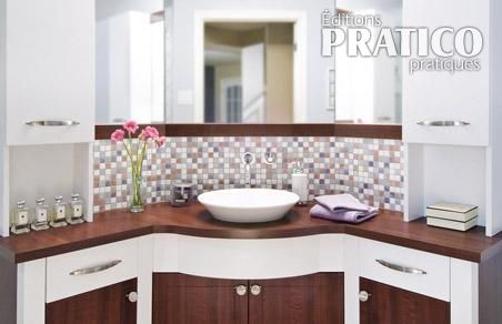 Salle de bain clatante de style salle de bain avant for Mini lavabo salle de bain