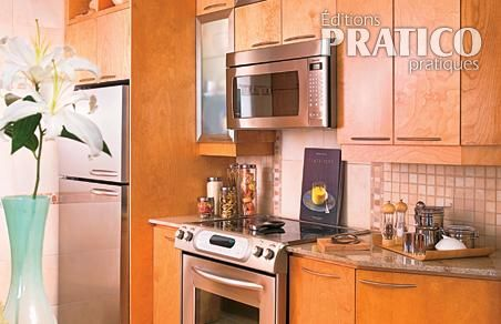 Transformation d 39 une petite cuisine cuisine avant for Installation petite cuisine