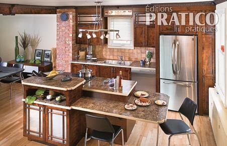 Comptoirs en stratifi dans la cuisine cuisine avant for Stratifie dans cuisine