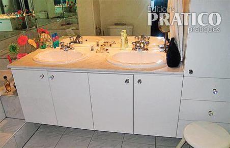 relooker la salle de bain salle de bain avant apr s d coration et r novation pratico. Black Bedroom Furniture Sets. Home Design Ideas