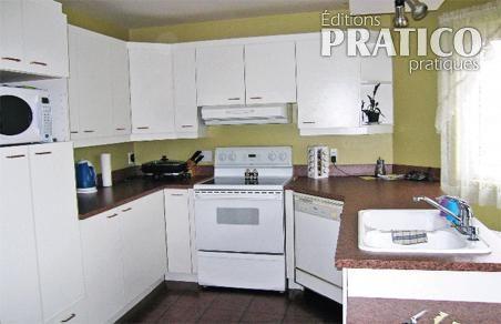 r novation ing nieuse de la cuisine cuisine avant apr s d coration et r novation pratico. Black Bedroom Furniture Sets. Home Design Ideas