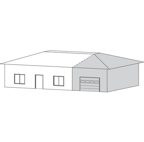 Faire un agrandissement combien a co te trucs et for Ajout garage maison