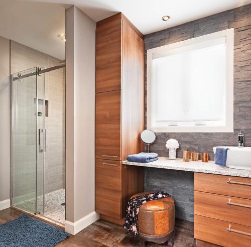Chaleur urbaine pour la salle de bain salle de bain - Decoration pour salle de bain ...