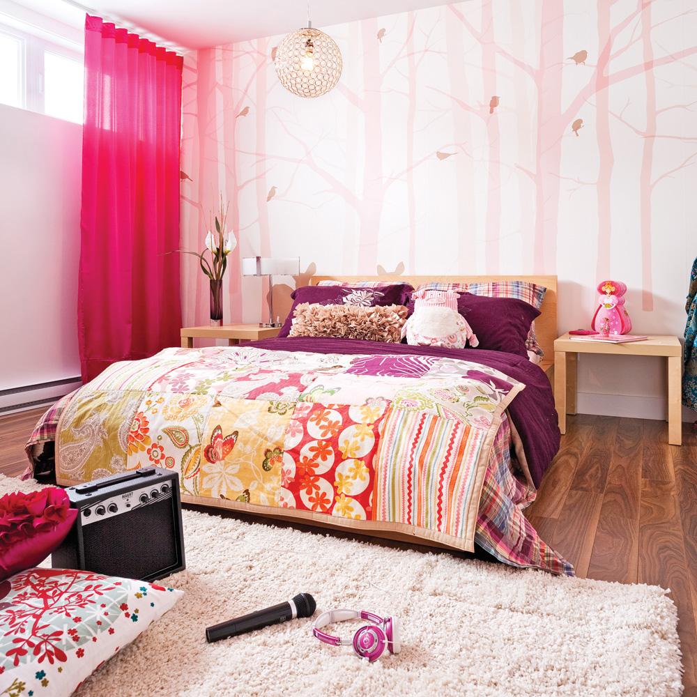 Chambre de fillette pleine de douceur d cors d 39 enfants inspirations - Deco chambre fillette ...