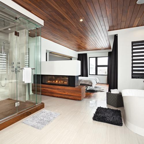 Look grandiose dans la chambre principale chambre for Chambre walk in