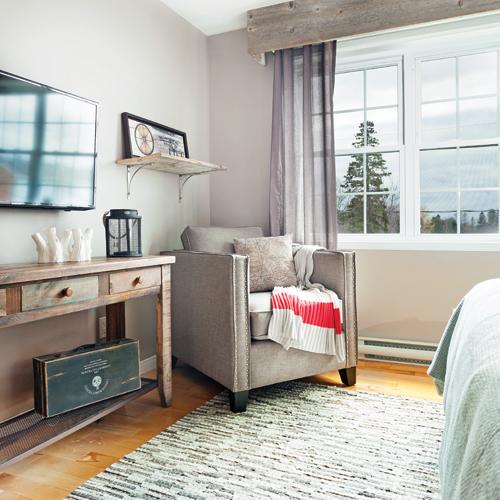 Affordable un tapis dans le style des catalognes tisses for Chambre rustique