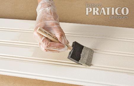 Acheter lambris bois blanc travaux de chantier nice for Peindre sur du lambris