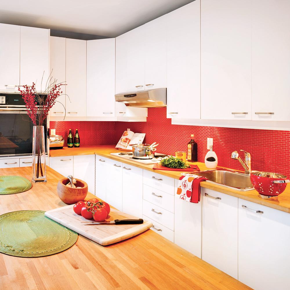 Comment moderniser le dosseret prix mini trucs et for Deco cuisine dosseret