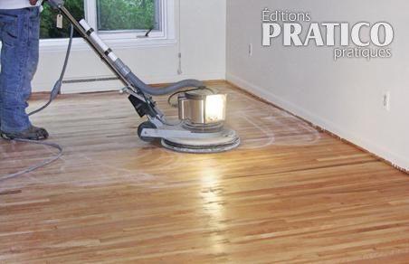 comment poncer un plancher en bois en tapes. Black Bedroom Furniture Sets. Home Design Ideas