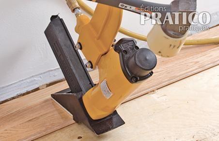 Comment poser un plancher de bois franc en tapes d coration et r novati - Poser un plancher bois ...