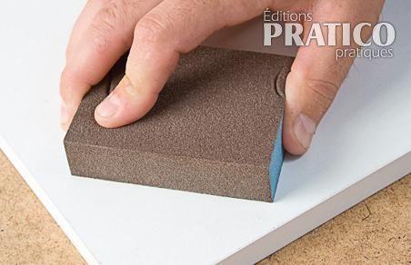 comment pr parer les surfaces avant de peindre la m lamine en tapes d coration et. Black Bedroom Furniture Sets. Home Design Ideas