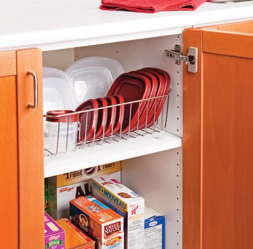 Comment ranger efficacement les contenants de plastique - Comment ranger la vaisselle dans la cuisine ...