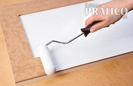comment transformer des panneaux de m lamine en tapes d coration et r novation pratico. Black Bedroom Furniture Sets. Home Design Ideas